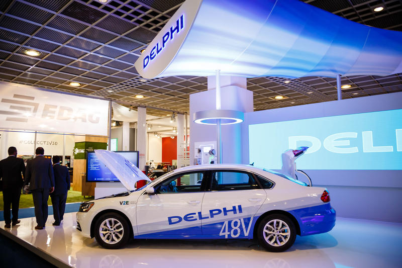 Delphi car