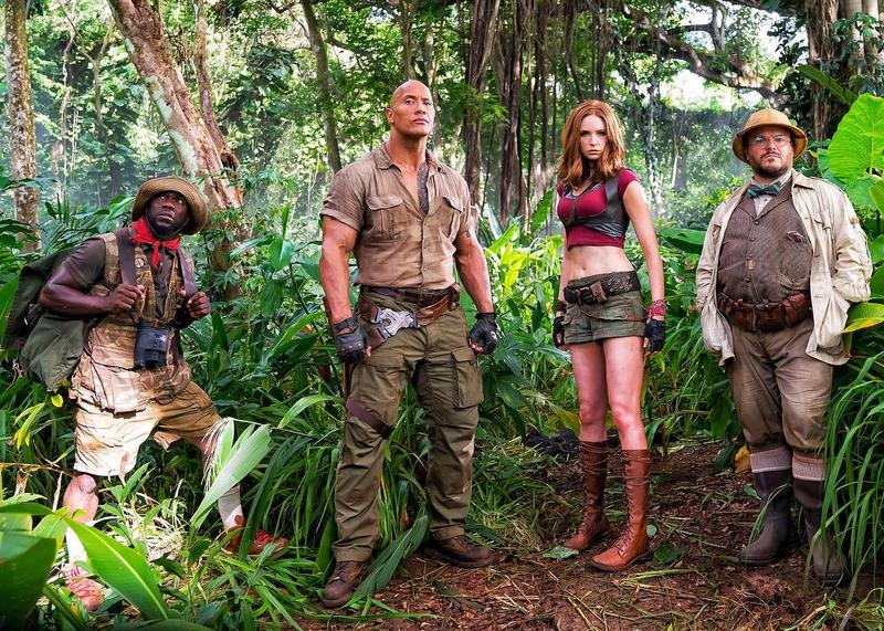 picture from the new film Jumanji welcome to the jungle
