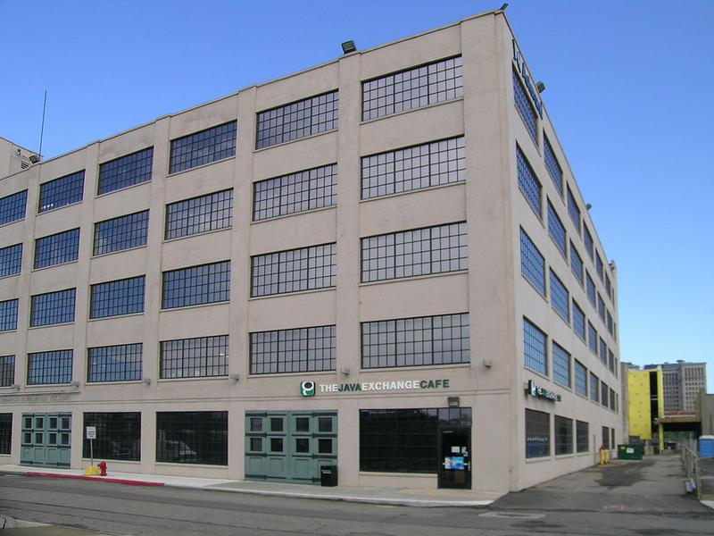 A Techtown building in Detroit