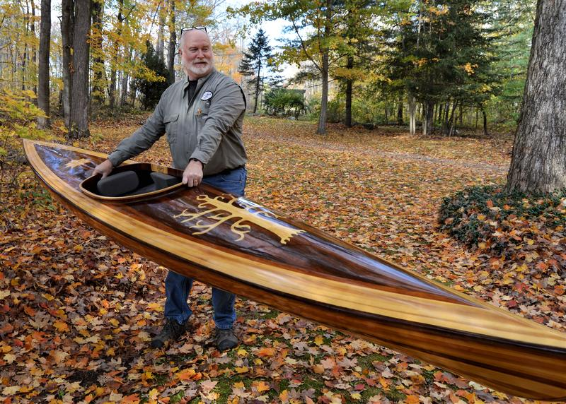 Allen Deming of Mackinaw Watercraft says his boats are lightweight and low maintenance.