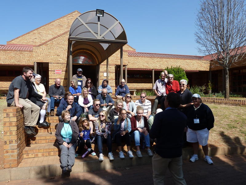 Mission group at Care Village Orphanage, Middleburg, South Africa