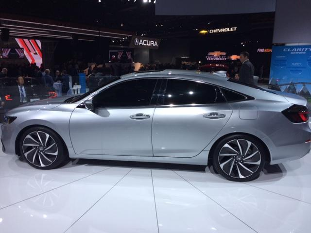 Prototype of new Honda Insight