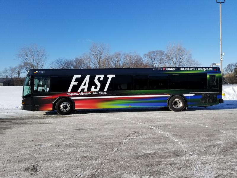bus side angle