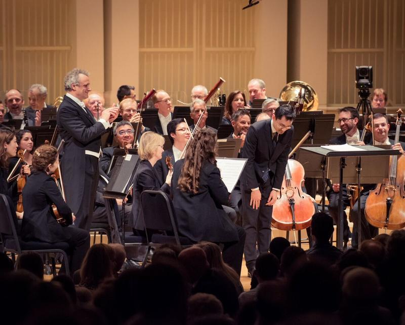 "The four movements of the Grammy-nominated concerto range from a ""musical postcard from a walk in the forest"" to a ""fierce rhapsody,"" Tian said."