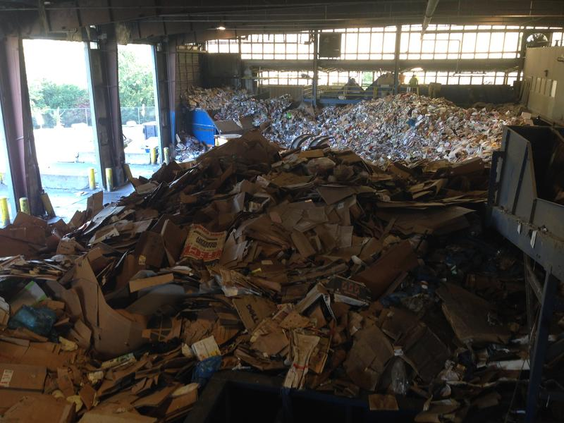 The Ann Arbor Materials Recovery Facility, pictured in 2013.