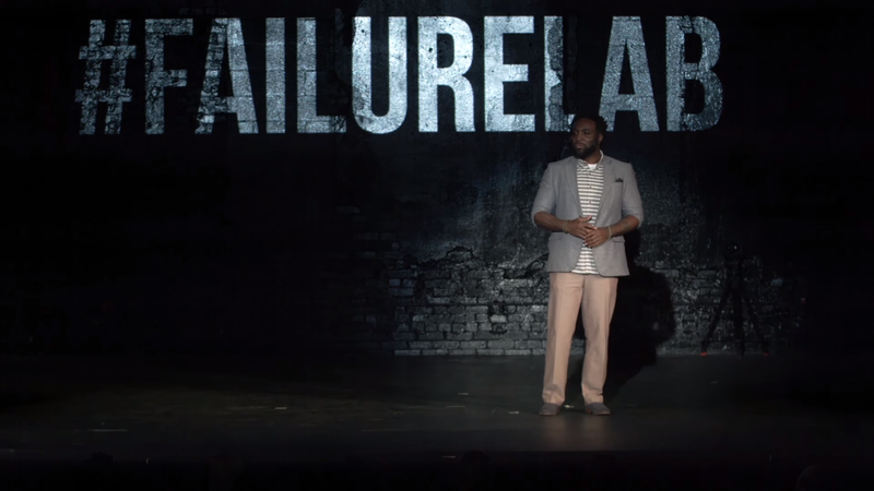 """Screengrab from """"Failure:Lab Grand Rapids 2015   Cole Williams"""" video (YouTube)"""