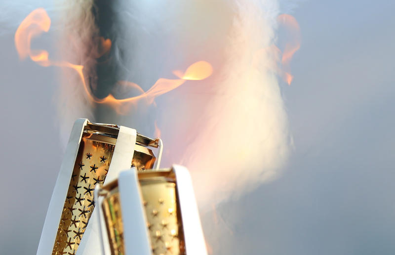 Pyeongchang Olympic torch