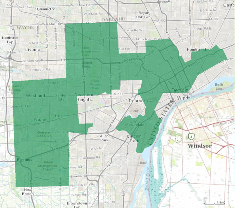 Michigan's 13th congressional district