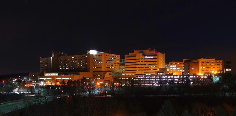 um hospital complex