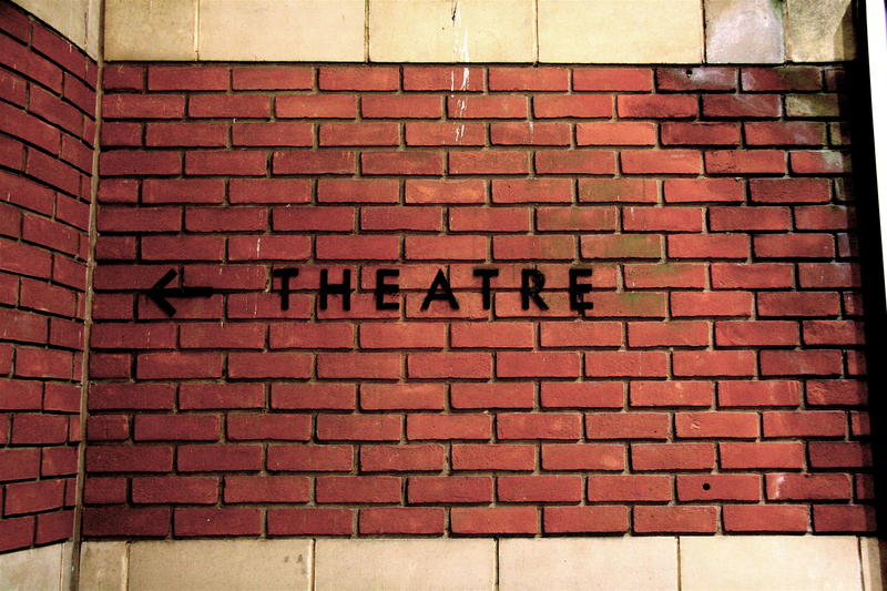 A theatre wall