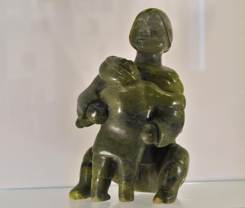 Originally Inuit artists carved animals. As the art developed, carvings of Inuit family life have been crafted.