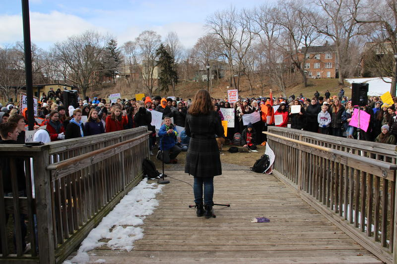 Riverside Park Student Walkout Rally, March 14, 2018