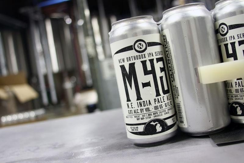 M-43 inside Old Nation Brewing Co.