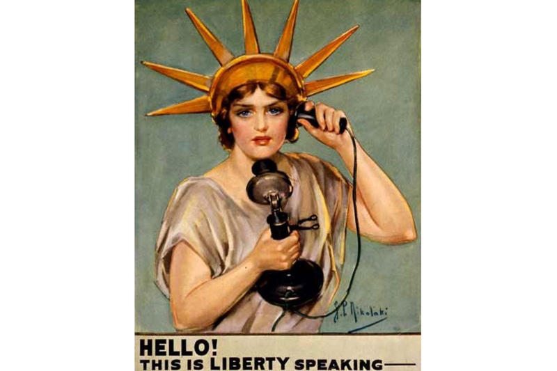 A World War I Propaganda poster.