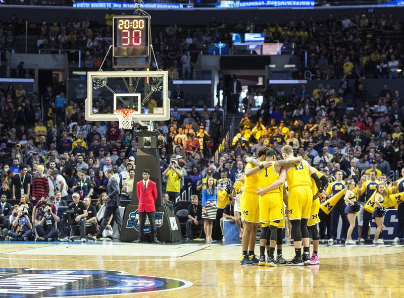 University of Michigan men's basketball players