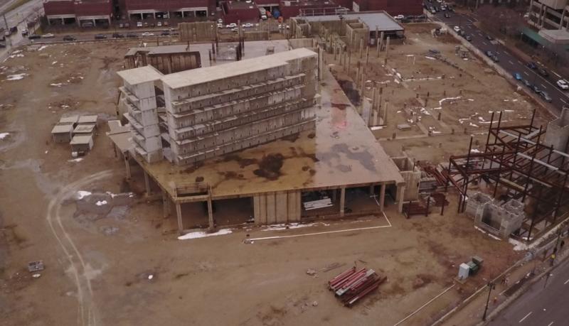 Gratiot construction site