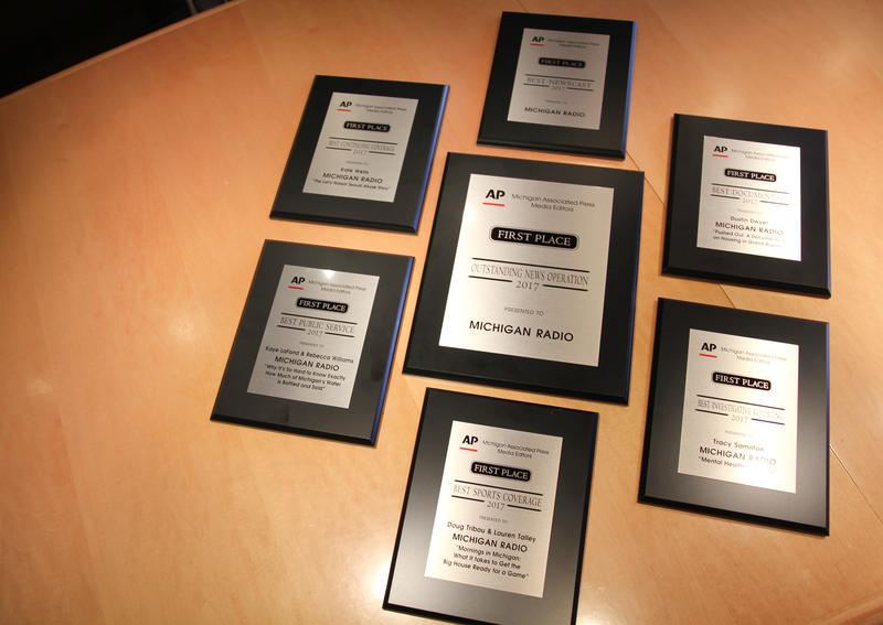 Michigan Radio's First Place AP Awards