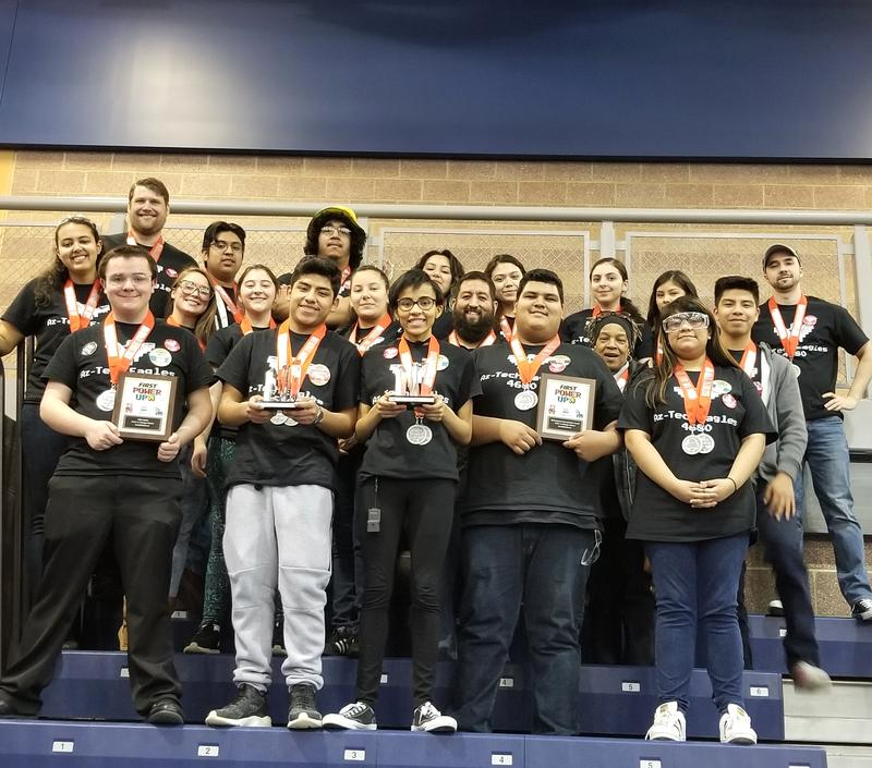 The Cesar Chavez Academy Az-Tech Eagles 4680