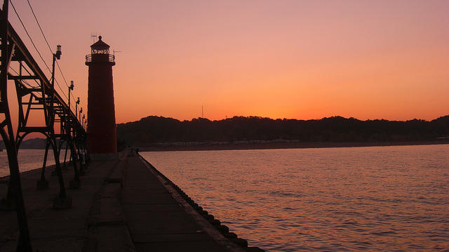 Grand Haven coast