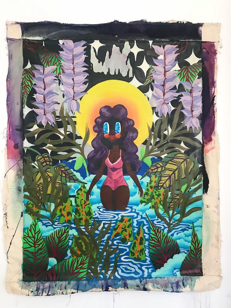 A print from Johnson's Sambo Princess collection