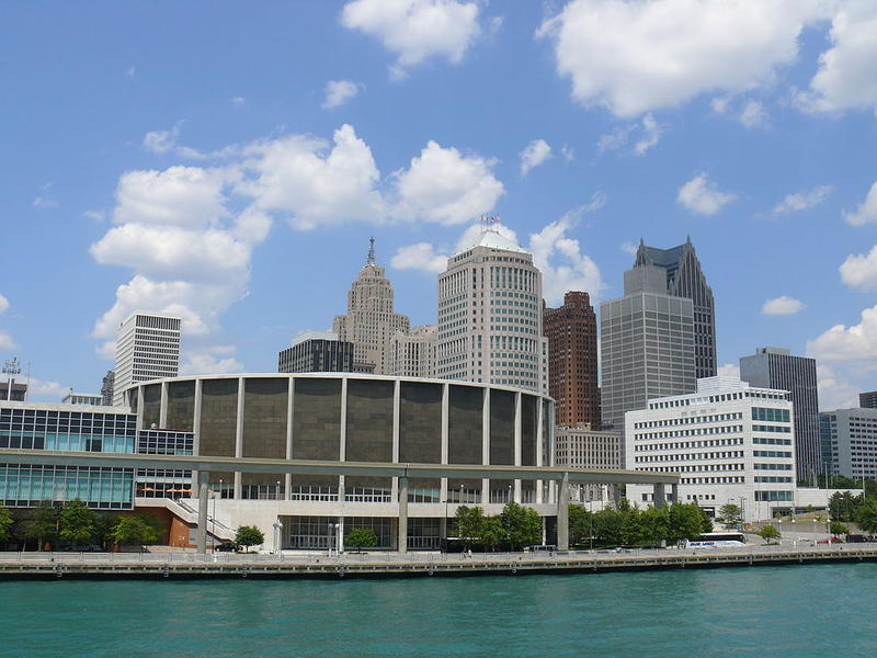 The Cobo Center in Detroit