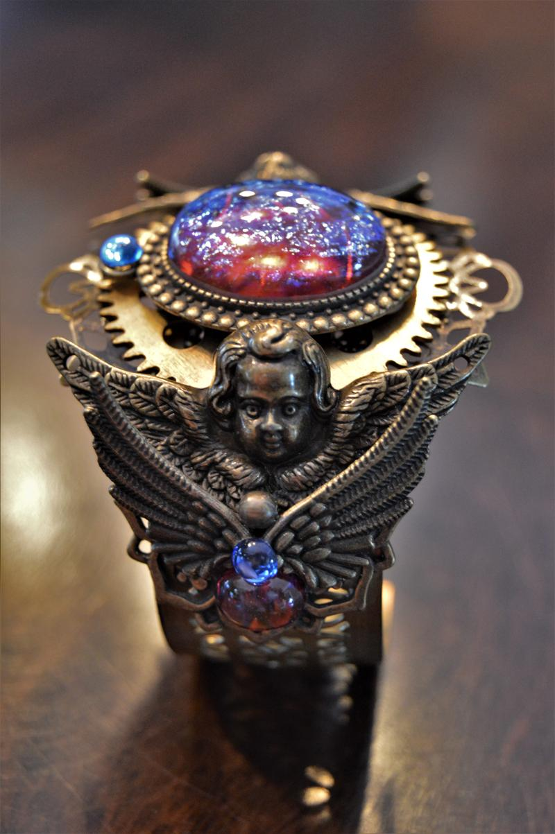 A bracelet designed by Heather Wright.