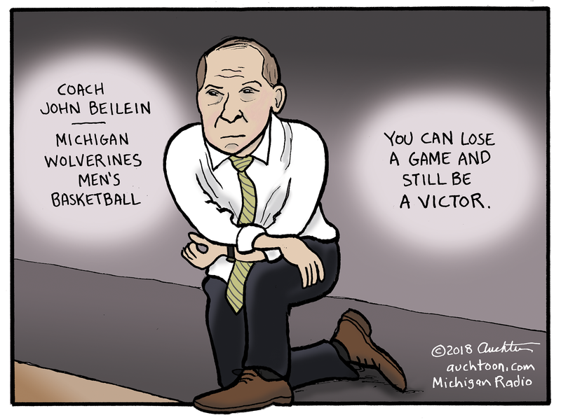 Coach John Beilein | Michigan Wolverines Men's Basketball. You can lose a game and still be a victor