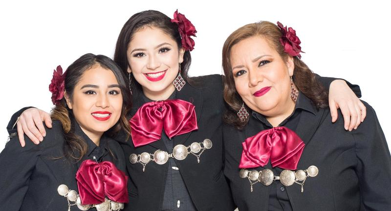 Three female Mariachis