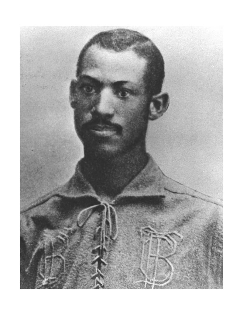 A portrait photo of Moses Fleetwood Walker