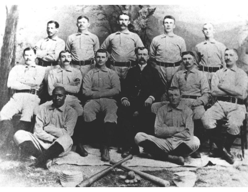 A photo from 1888 of the Syracuse Stars