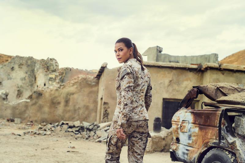 Actress Toni Trucks in SEAL Team on CBS.