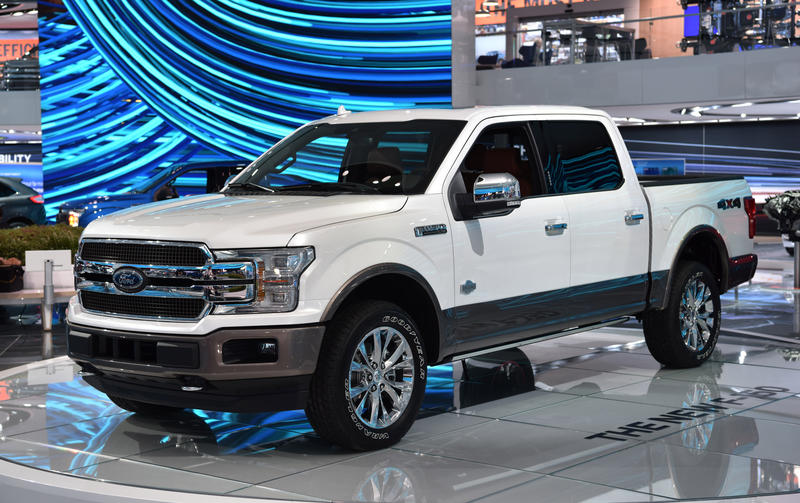 Ford has halted all production of its best-selling vehicle, the F-150 truck.