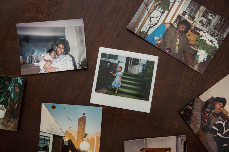 Family photos document memories and milestones in MorningSide.