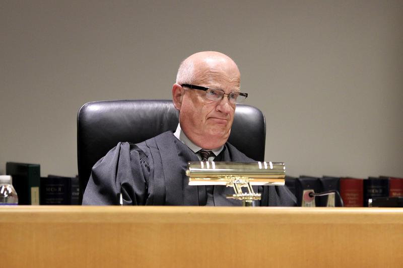 East Lansing District Court Judge Richard Ball