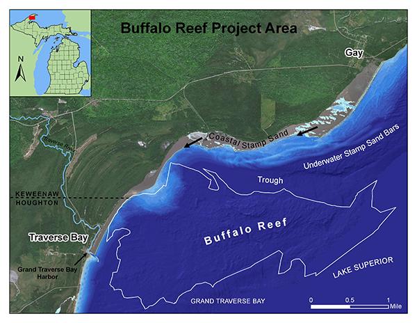 Buffalo Reef off Gay