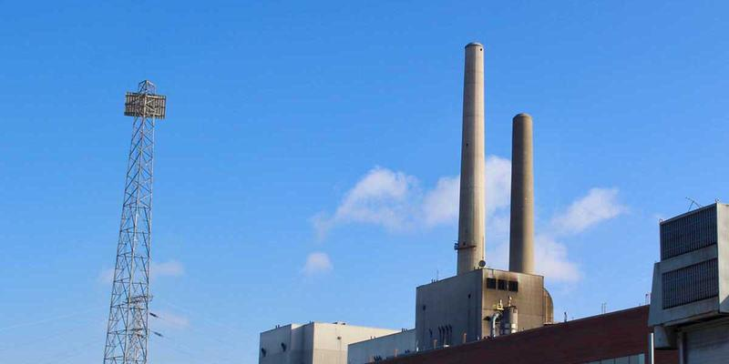 DTE Energy plans to shutter this coal-fired power plant in St. Clair County. Attorney General Bill Schuette frequently touts his opposition to regulations from President Barack Obama about coal power and now is under criticism for it.