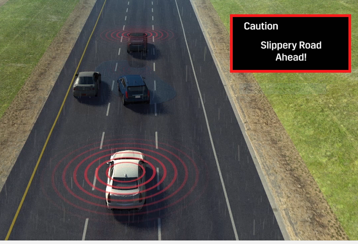 V2V technology can warn drivers of many dangerous situations