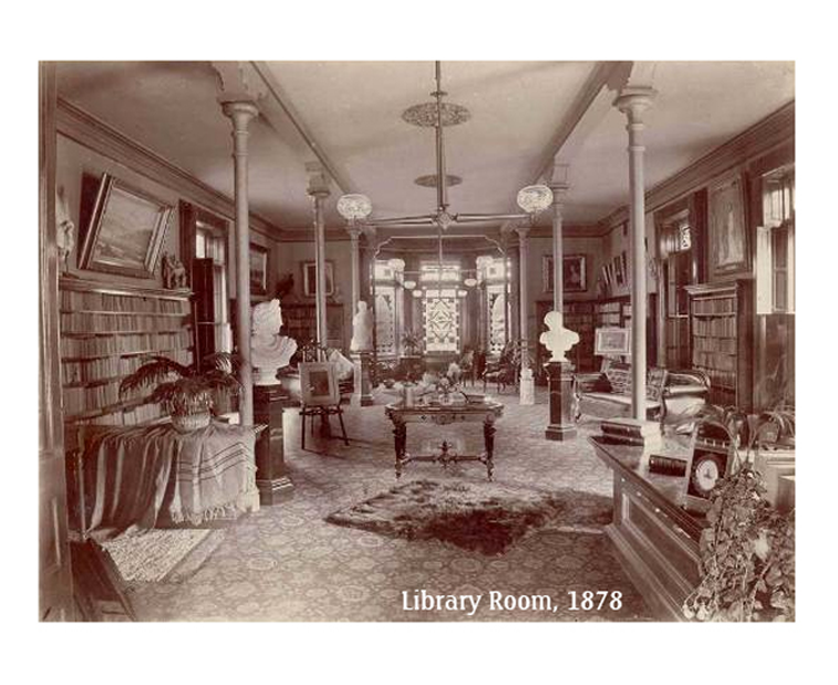 Kalamazoo Ladies Library reading room