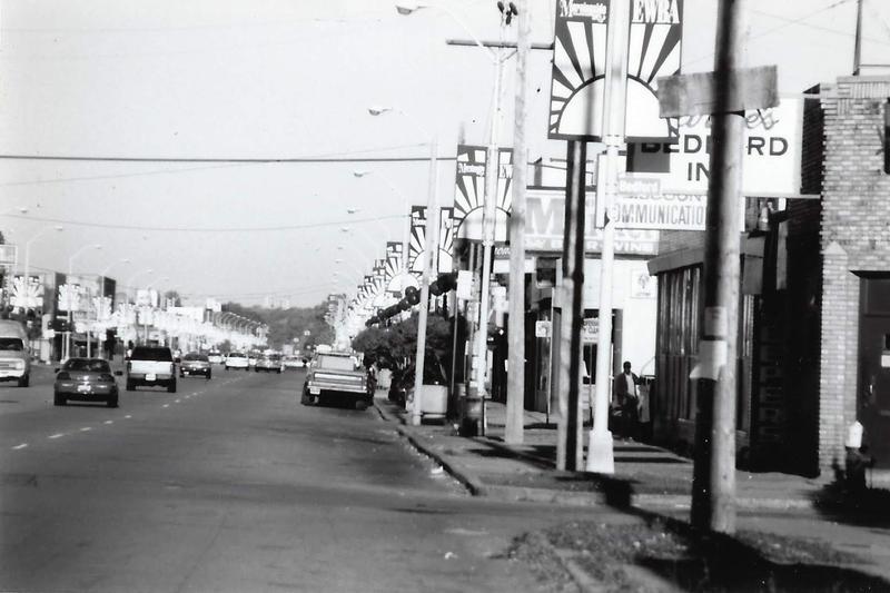 MorningSide signs line East Warren.