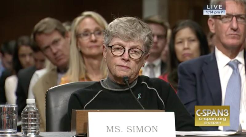 Former MSU President Lou Anna K. Simon