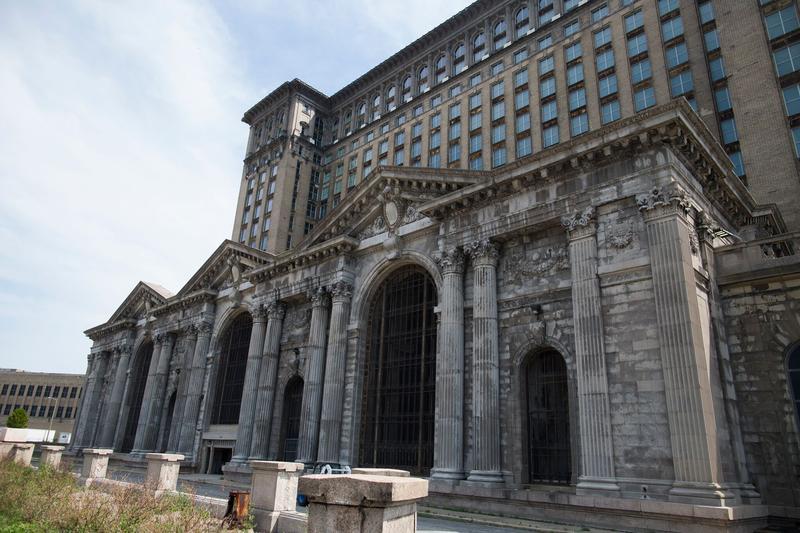 Michigan Central Station circa 2018