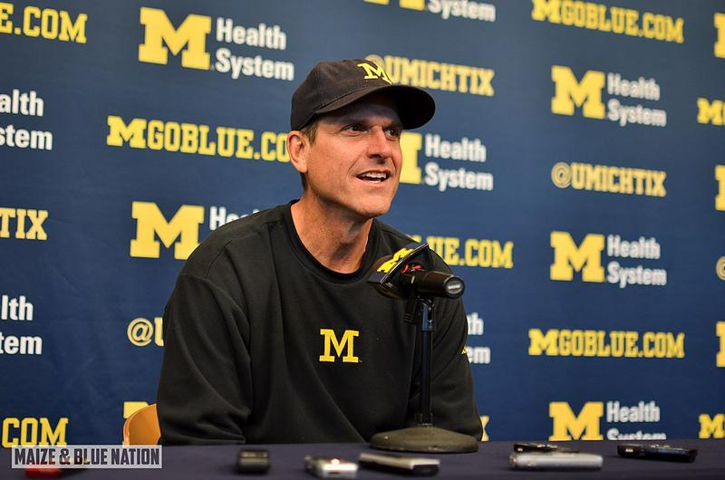 Coach Jim Harbaugh