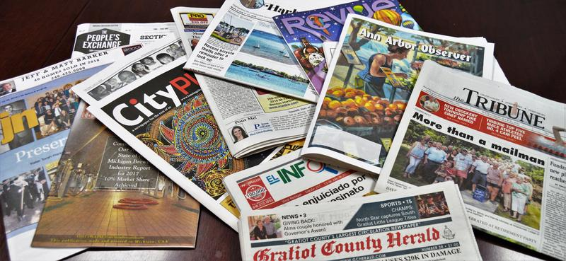 Newspapers in Michigan and across the nation are being hit by tariff costs because they are dependent on Canadian newsprint.