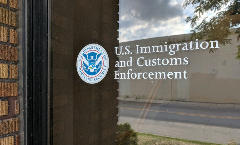 The Immigration and Customs Enforcement Office in Grand Rapids