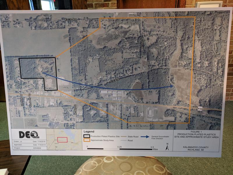 MDEQ map
