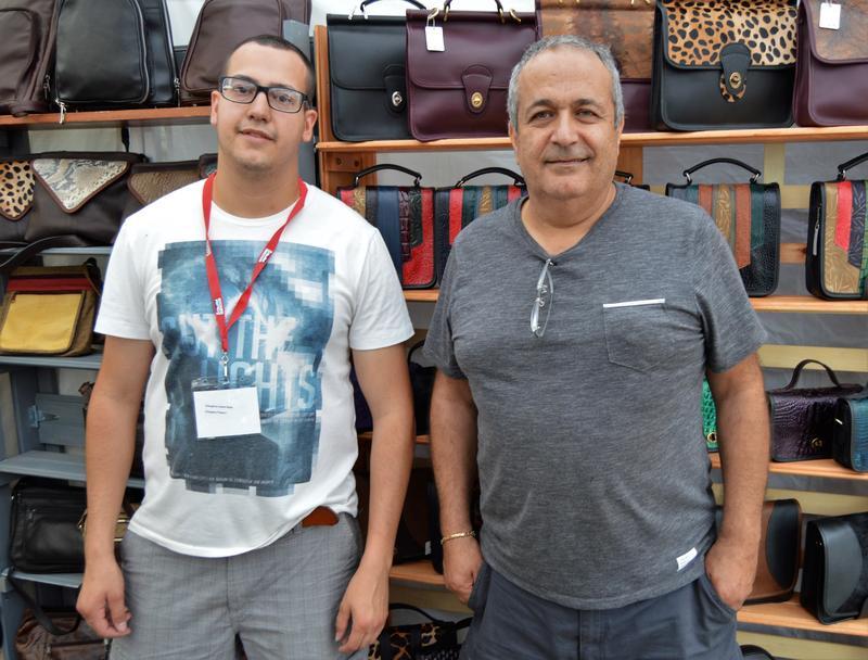 Eli Abdelahad and his father