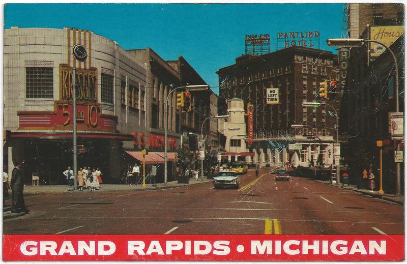 1950s grand rapids