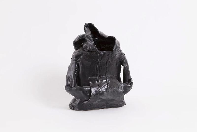 Hamtramck Ceramck (Patrick Quinn), Black Hoodie, 2018, Sculpture. Courtesy of Hamtramck Ceramck.