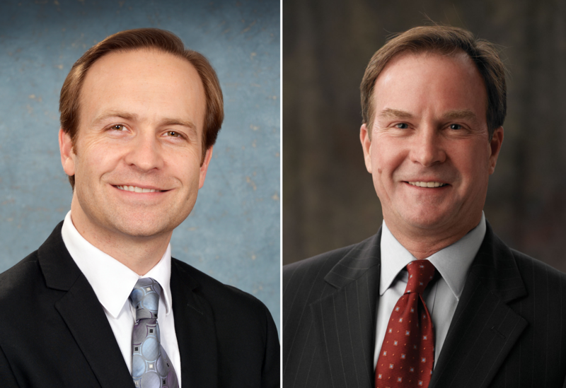 Brian Calley and Bill Schuette
