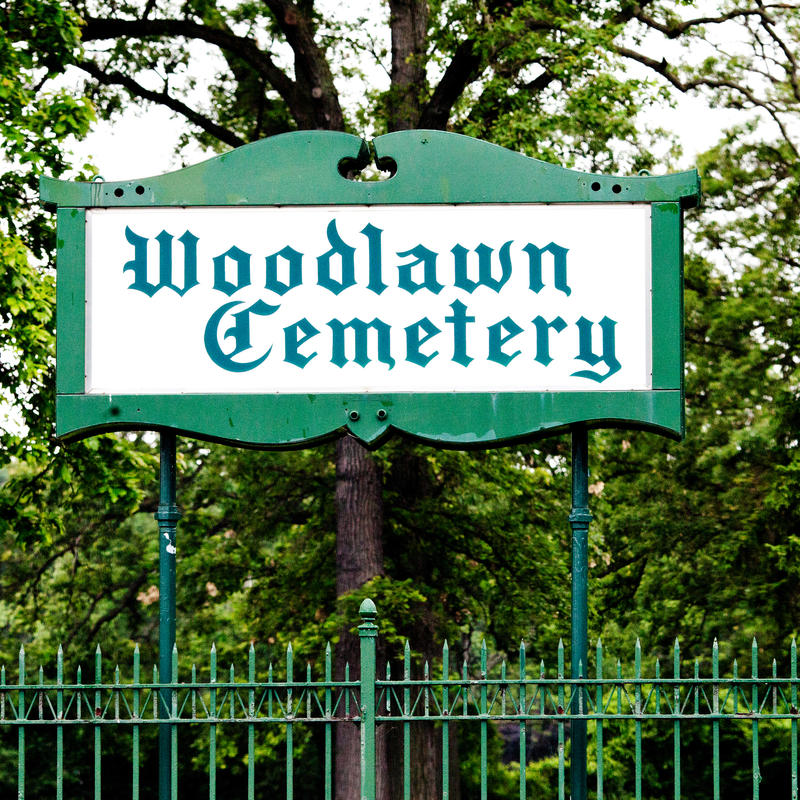 Detroit's Woodlawn Cemetery, where several well-known Detroit figures are interred, is among 30 cemeteries whose sale the Michigan Strategic Fund has preliminarily agreed to help finance, despite the owners of the properties having no knowledge of any pot